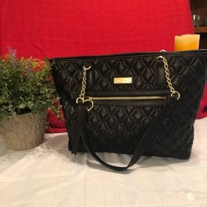 Anne Klein Quilted Handbag